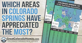 The Best Areas to Buy a House in Colorado Springs Based Off of Market Appreciation