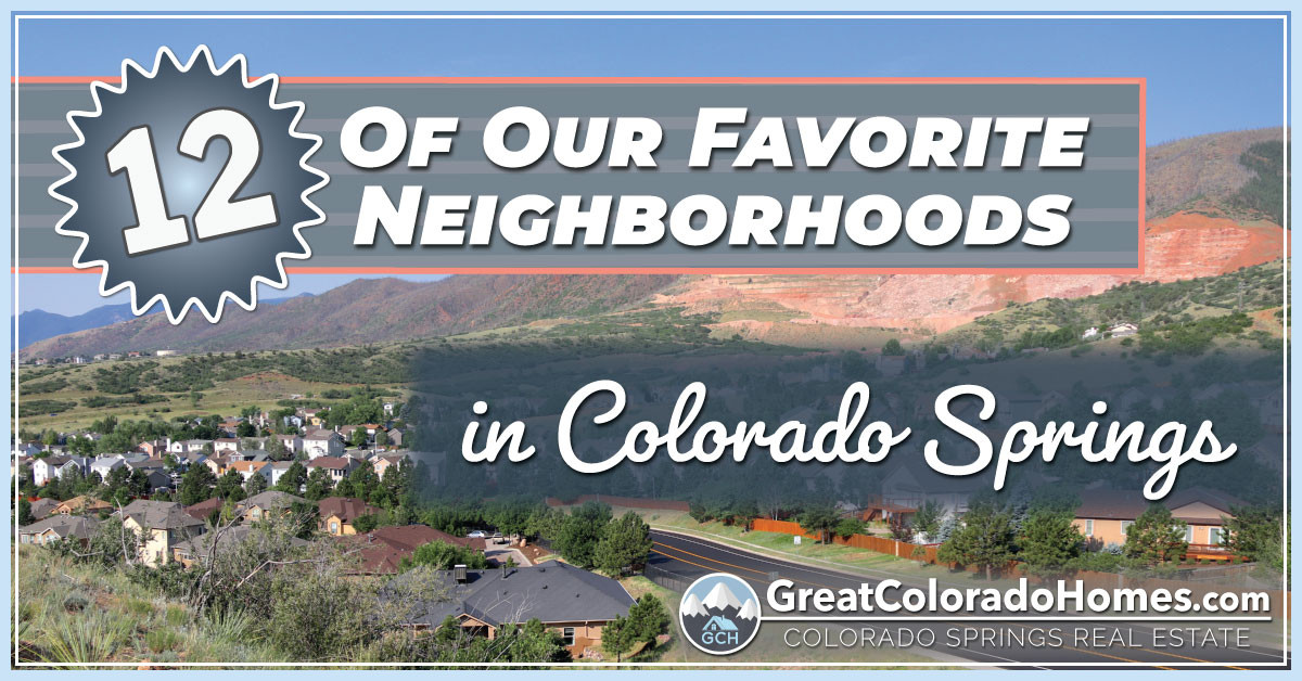 12 of the best neighborhoods in colorado springs