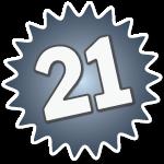 Number Twenty One