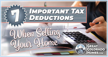 7 Tax Deductions When Selling Your Home
