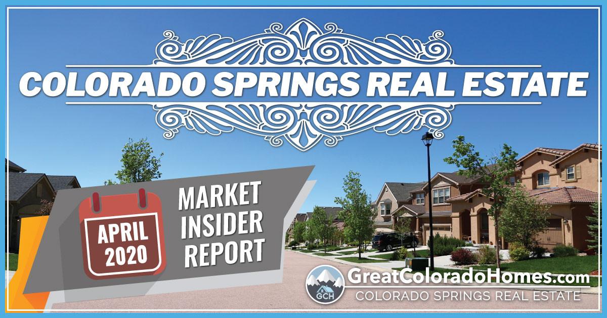 April 2020 Colorado Springs Real Estate Market