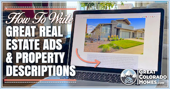How To Write Great Real Estate Ads and Property Descriptions