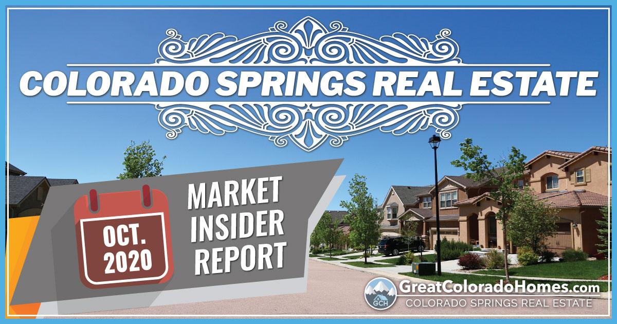 October 2020 Colorado Springs Real Estate Market