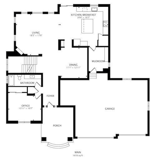 Example of House Floorplan