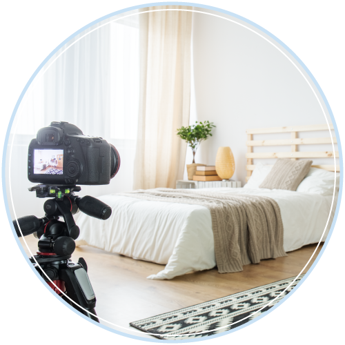 wide-angle lens in real estate photos