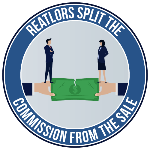 Realtors split the commission from the sale