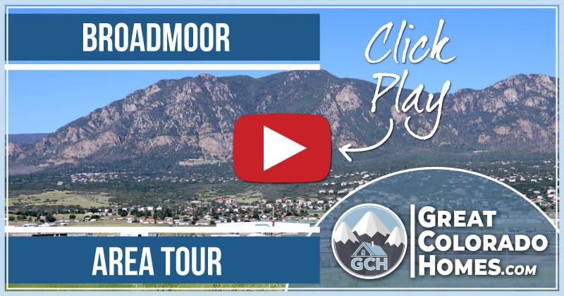 Video of the Broadmoor Area in Colorado Springs, CO