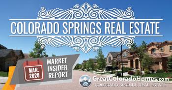 March 2020 Colorado Springs Real Estate Market Insider