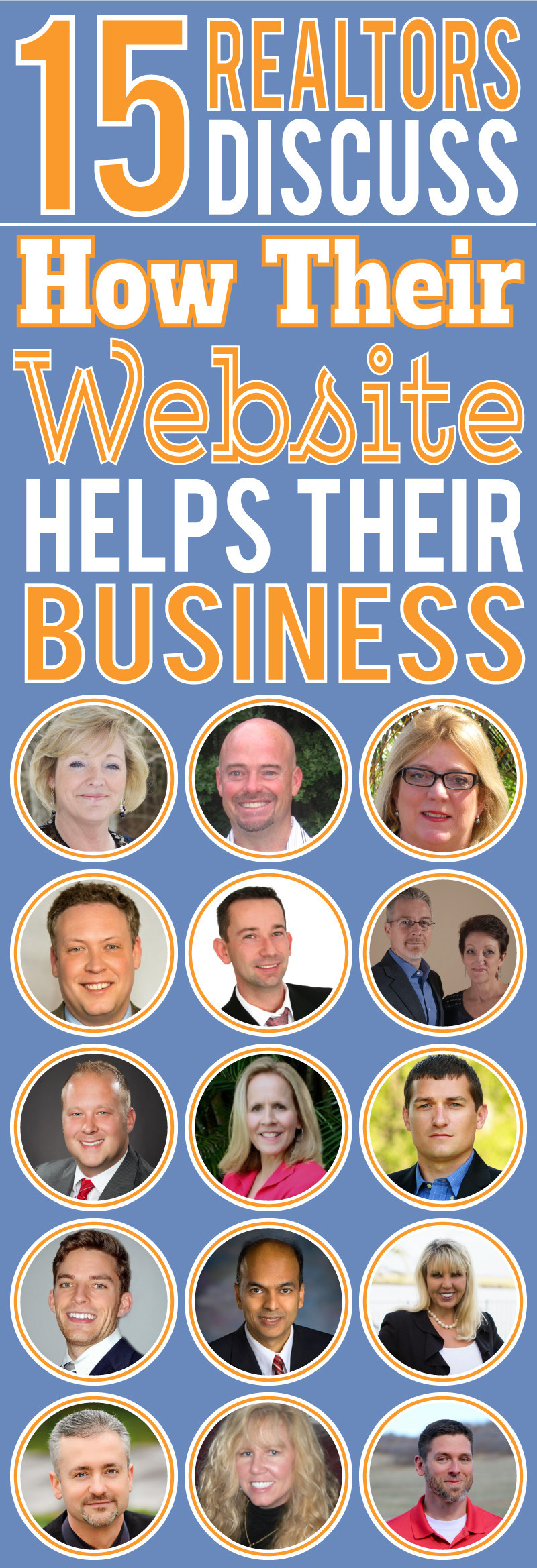 15 Realtors Discuss How Their Website Helps Their Business