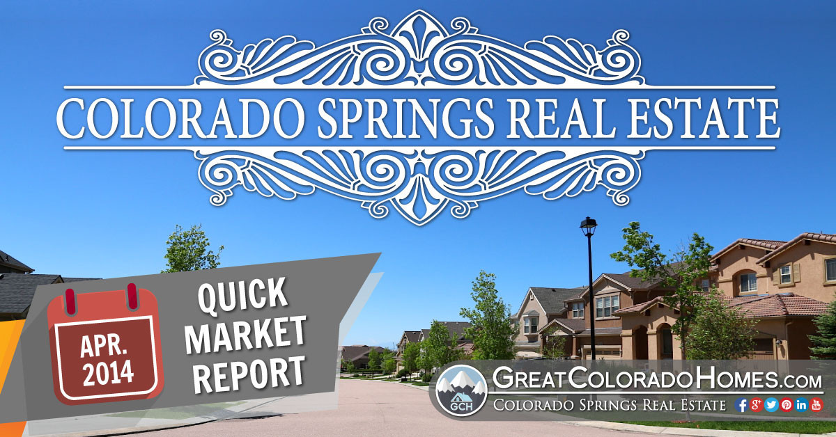 Colorado Springs Real Estate Statistics for December 2014