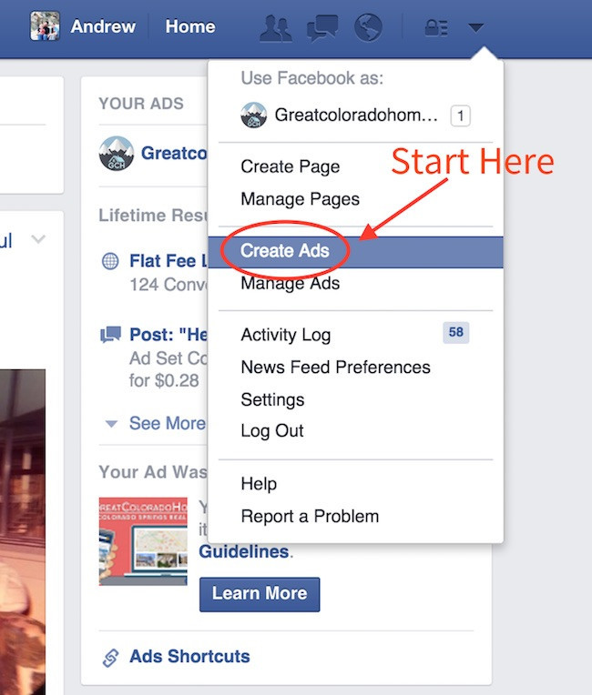 Facebook Ads Getting Started