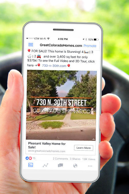 Facebook Ads Sell Real Estate