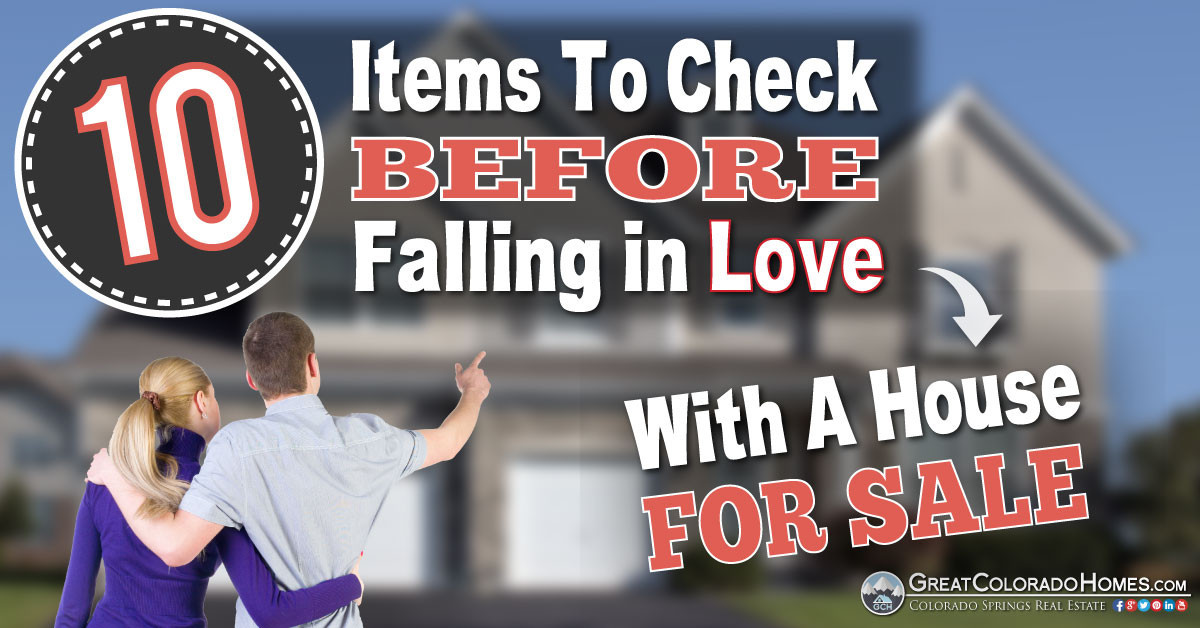 10 Items to Check Before Falling In Love With A House Facebook