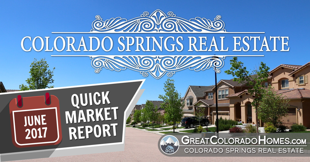 Colorado Springs Real Estate Statistics for June 2016 FB