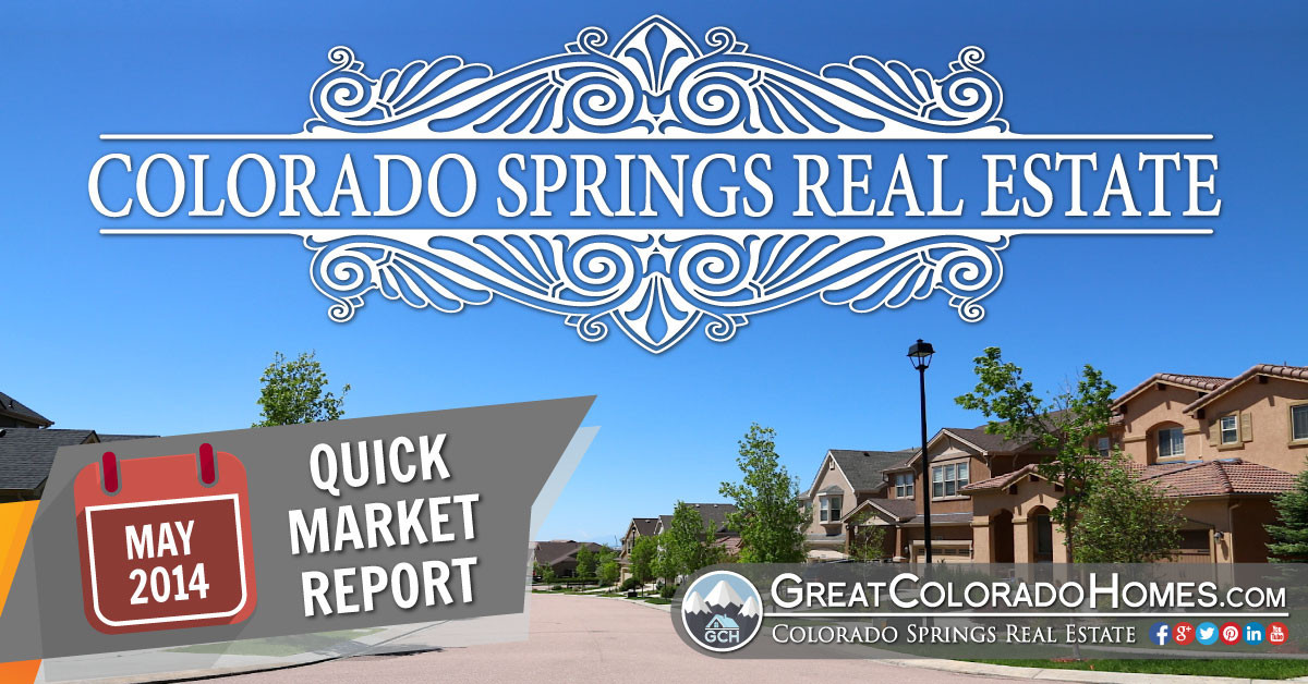 Colorado Springs Real Estate Statistics for May 2015