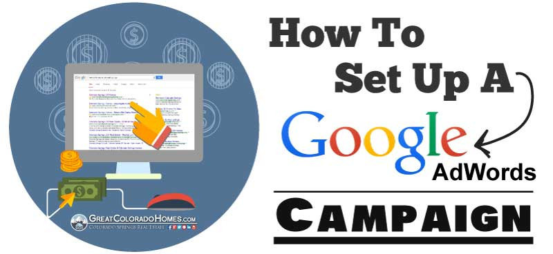 How to set up a google adwords campaing