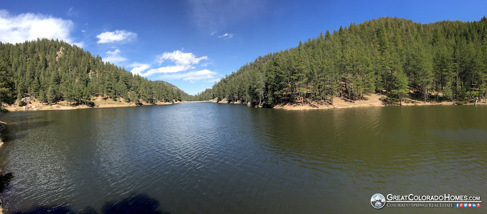 Upper Palmer Lake Reservoir in Summer