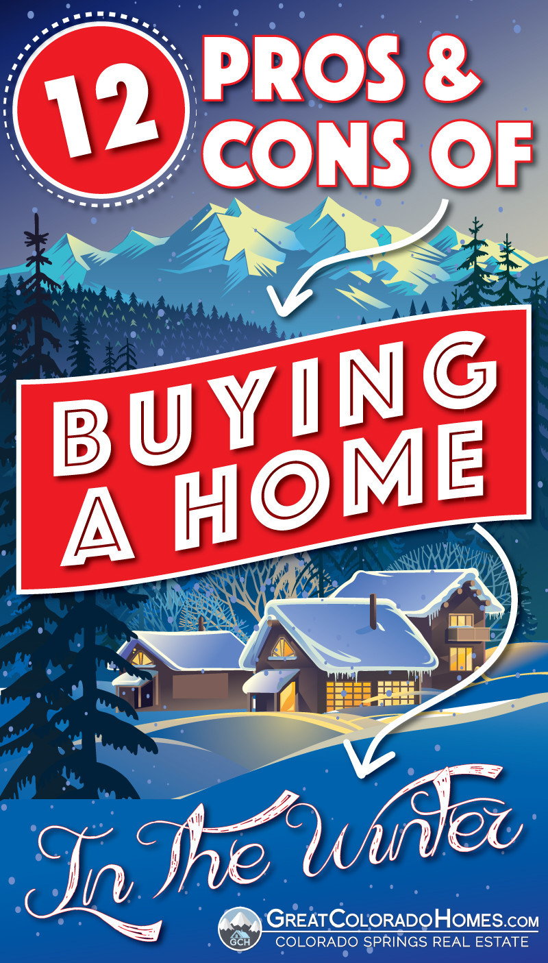 12 Pros & Cons of Buying a Home in the Winter