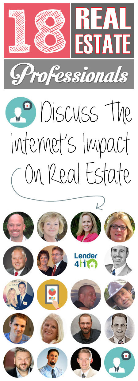 18 experts discuss the affects of the internet on real estate