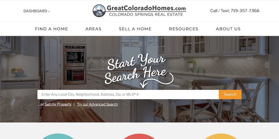 Great Colorado Homes Homepage