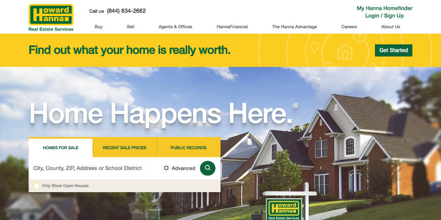 Howard Hanna Real Estate Services Homepage