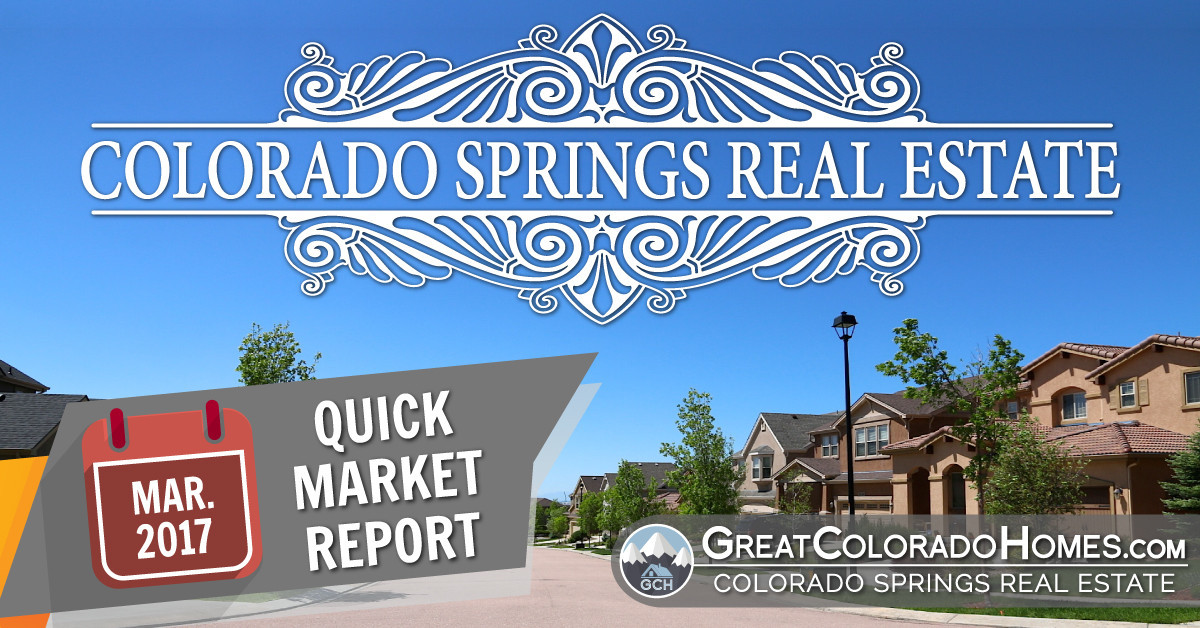 March 2017 Colorado Springs Real Estate Statistics for July 2016