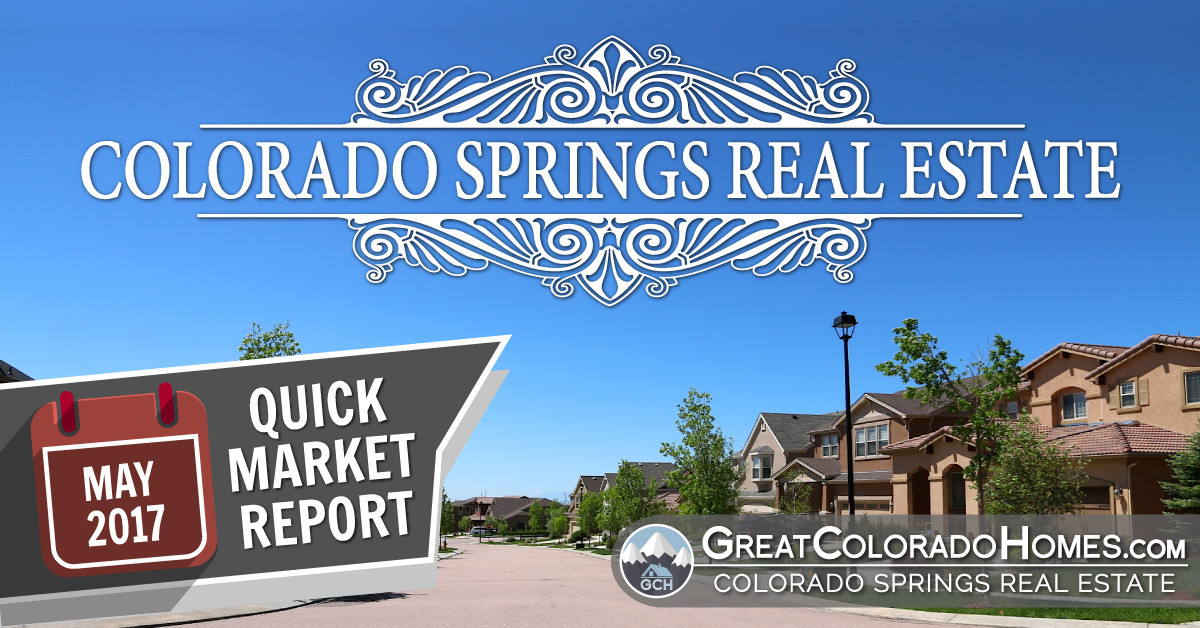 May 2017 Colorado Springs Real Estate Statistics for July 2016