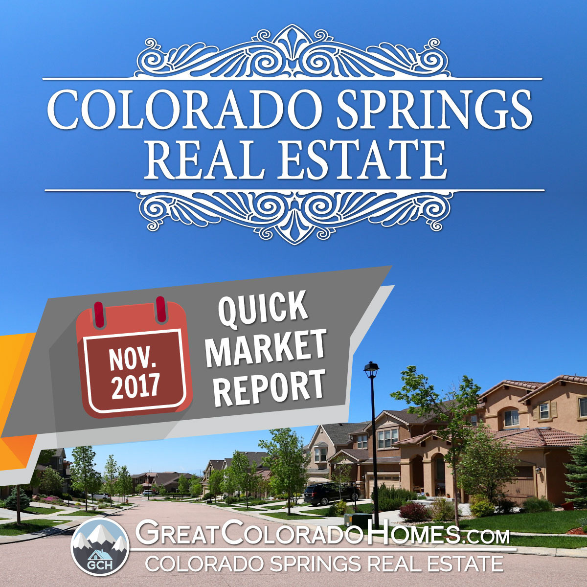 November 2017 Colorado Springs Real Estate Statistics