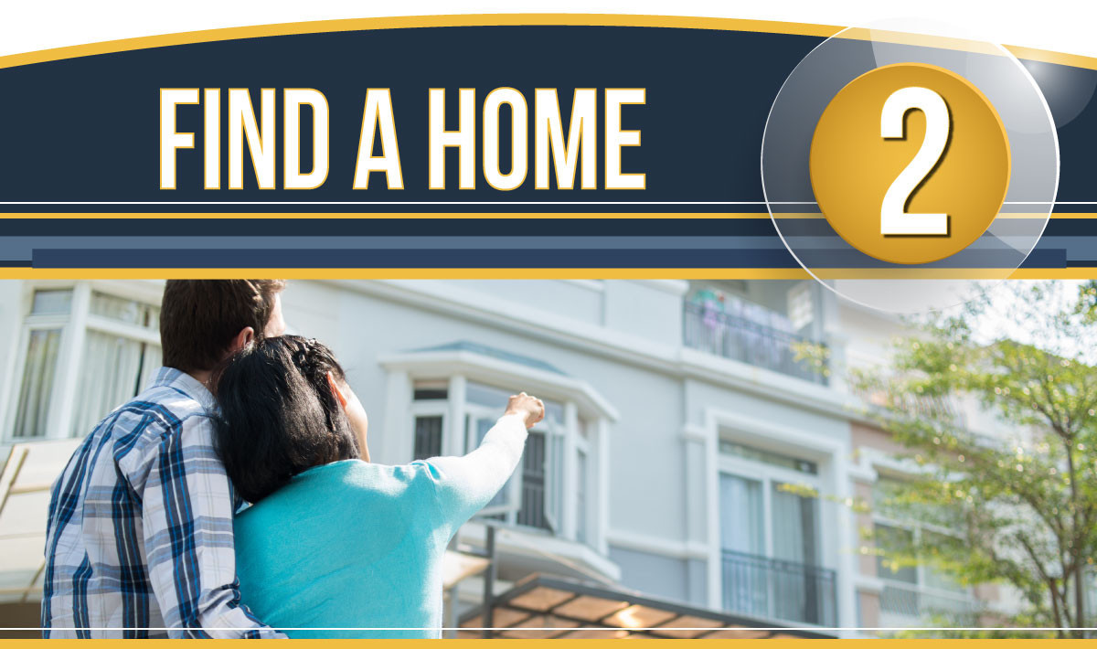 Step 2: Find a Home