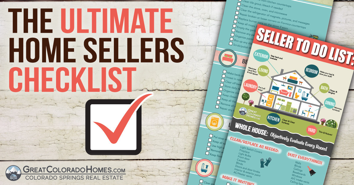 The Ultimate Home Sellers Checklist