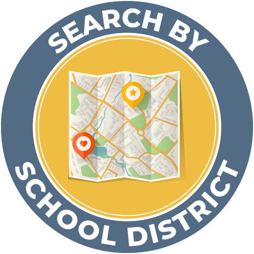 Search Homes By School District