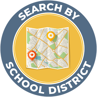 Search Homes By School District Map