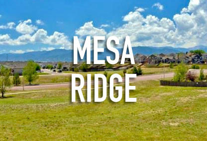 Mesa Ridge in Fountain, CO