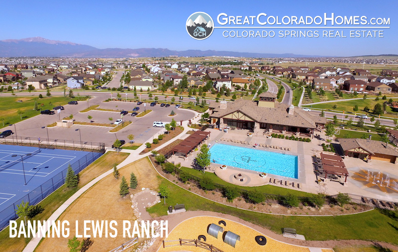 Banning Lewis Ranch Arial Real Estate