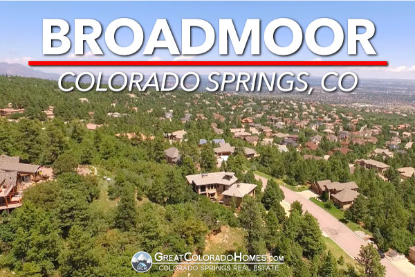 Broadmoor Colorado Springs Arial View