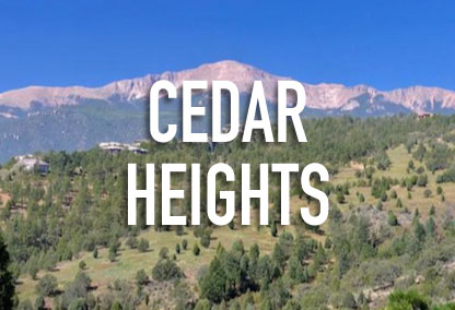 Cedar Heights Neighborhood in Colorado Springs