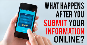 What Happens After You Submit Your Information to a Real Estate Website?