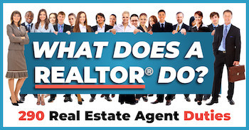 What Does A Realtor Do? 290 Real Estate Duties