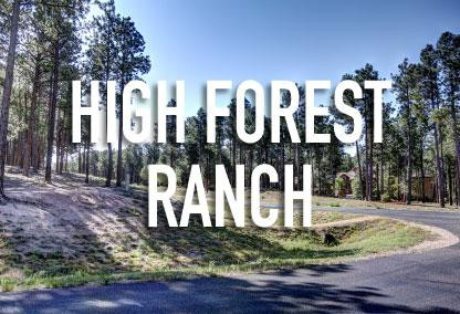 High Forest Ranch Neighborhood in Colorado Springs