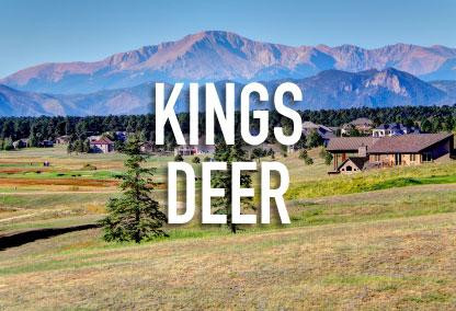 Kings Deer Neighborhood in Monument, CO