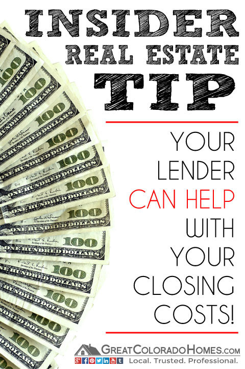 Your Lender Can Help With Your Closing Costs